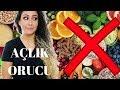 Açlık Orucu Boyunca Çektiğim Videolar - 5 Gün Açlık - Water Fasting - Su Orucu - Şifa Orucu