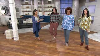 LOGO by Lori Goldstein Woven Lyocell Jogger Pant with Pockets on QVC
