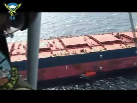 Αεροδιακομιδή Τραυματιών από Εμπορικό Πλοίο/ MEDEVAC from