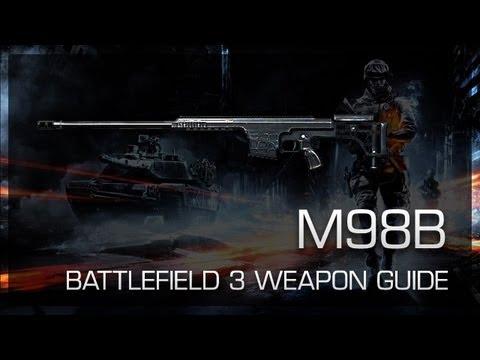 M98B : Battlefield 3 Weapon Guide, Sniping Gameplay & Gun Review