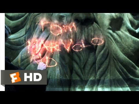 Harry Potter And The Chamber Of Secrets (4/5) Movie CLIP - Riddle Unraveled (2002) HD