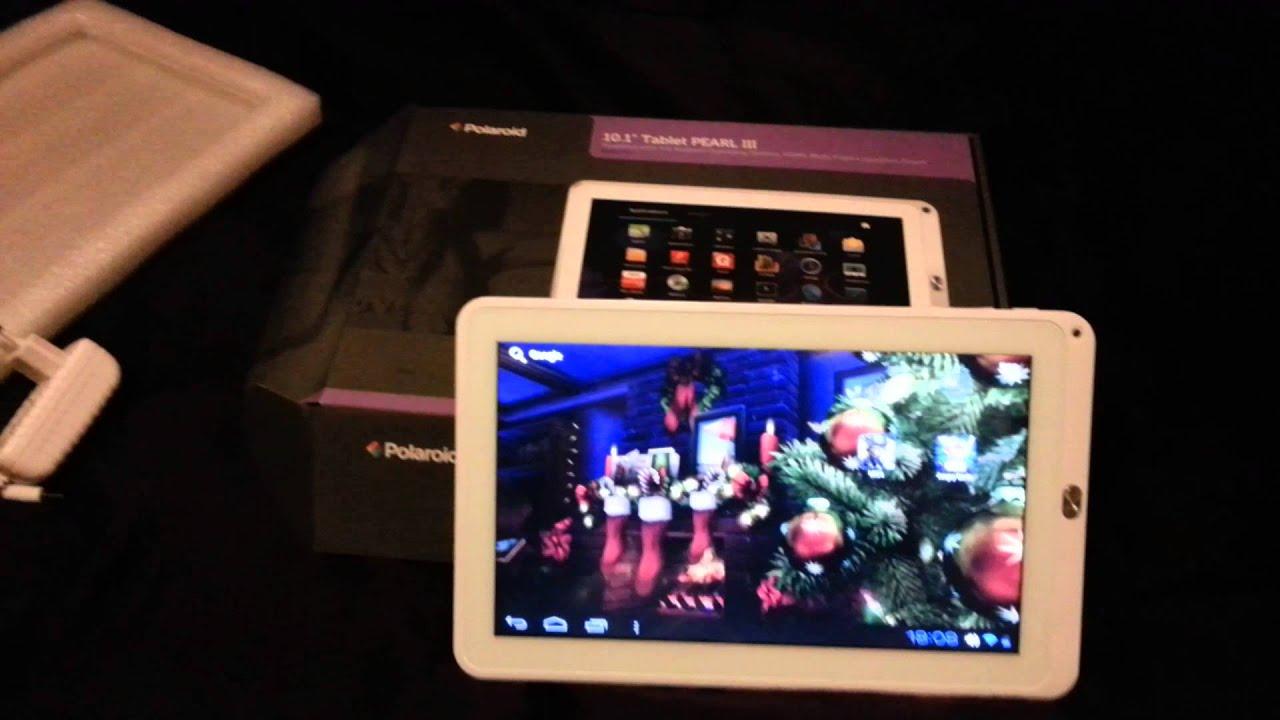 test tablette polaroid 10 1 pearl iii youtube. Black Bedroom Furniture Sets. Home Design Ideas