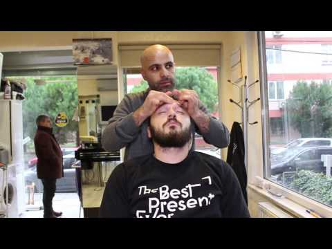 ASMR Turkish Barber Face,Head And Body Massage 11