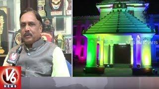 Telugu University VC SV Satyanarayana Face To Face Over World Telugu Conference  - netivaarthalu.com
