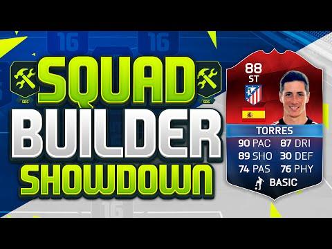 FIFA 16 SQUAD BUILDER SHOWDOWN!!! CLASSIC iMOTM TORRES!!! Legendary MOTM Fernando Torres