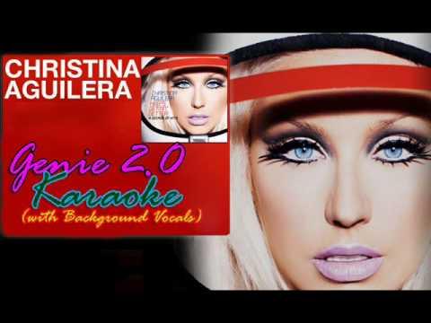 Christina Aguilera - Genie 2.0 (Instrumental) with Background vocals