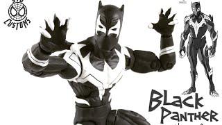 "Venomverse Black Panther custom Marvel Legends Black Panther Walmart exclusive 6"" action figure"