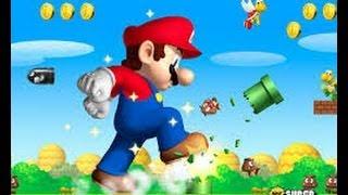 Jugando Supeer Mario broos♥