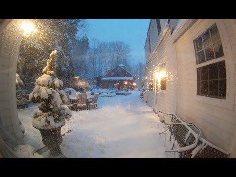Winter Storm Nemo Time lapse - 30