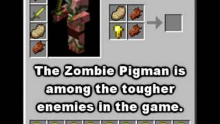 Minecraft Mob Guide - Zombie Pigman [HD]