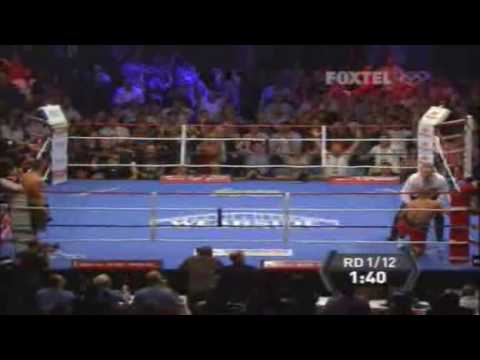 Danny Green vs Roy Jones Jr from Sydney, Australia 02/12/09 Video