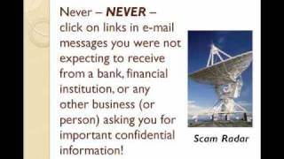 Email Spam Protection  Tip #5: Dont Get Hooked By A Phishing Scam