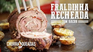 Fraldinha Recheada com Bacon no Mini Peppe® I Churrasqueadas