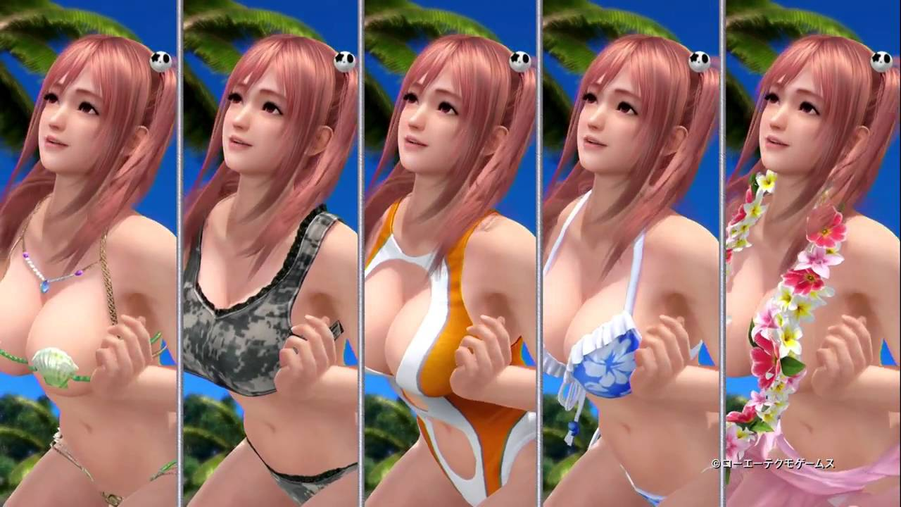 Dead or alive xtreme 2 naked girls  exposed pictures