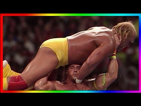 Hulk Hogan vs. Ultimate Warrior: WrestleMania VI - Champion vs. Champion Match