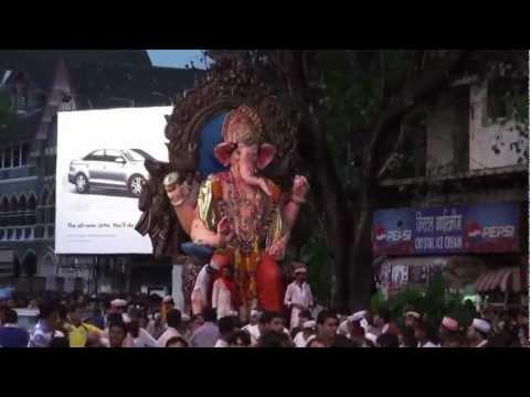 GANPATI BAPPA MORYA (SHANKAR MAHADEVAN) - GANARAJ ADHIRAJ 2012...