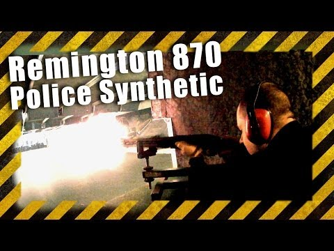 Remington 870 Police Synthetic