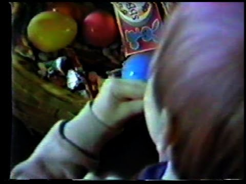 Easter 1987 --(Weird Paul)  Happy Easter 2014 Basket Haul Vlog 80s