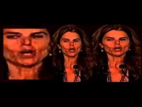 Maria Shriver - Demonic Reptilian Shapeshifter video