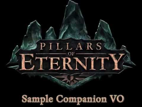 Pillars Of Eternity: Sample Companion Voice Over video