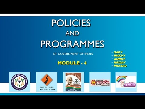 Policies and Programmes of Government of India, Module - 4