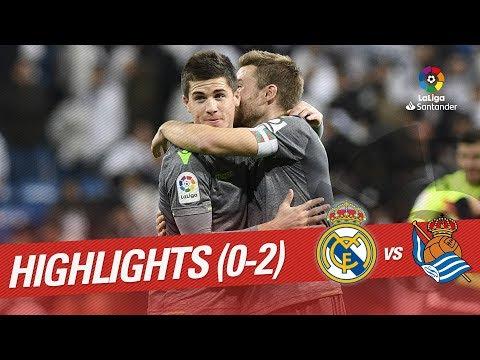 Highlights Real Madrid vs Real Sociedad (0-2)
