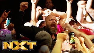 Triple H rejoices with NXT crowd following live premiere: NXT Exclusive, Sept. 18, 2019