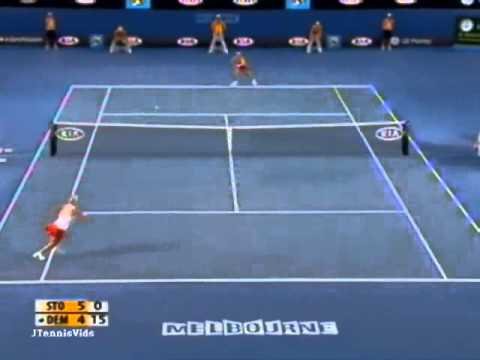 Elena Dementieva vs Sam Stosur 2009 AO Highlights