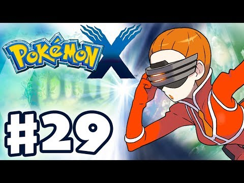 Pokemon X and Y - Gameplay Walkthrough Part 29 - Kalos Power Plant (Nintendo 3DS)