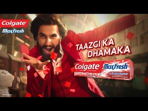 Colgate MaxFresh: Taazgi Express with Ranveer Singh