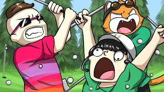 MINI-GOLF TORTURE! - Golf With Friends Funny Moments