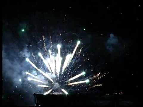 Феєрверк на День Незалежності в Ямполі