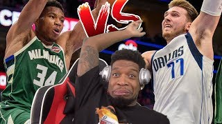 GIANNIS & LUKA BOTH DROP 30! Milwaukee Bucks vs Dallas Mavericks - Full Game Highlights
