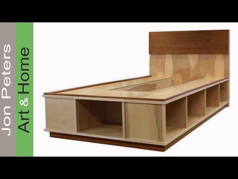 Trim, Veneer & Finish a Platform Bed with Storage - Part 2