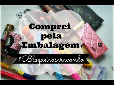 ♥ COMPREI PELA EMBALAGEM ♥ BLOGUEIRAS GRAVANDO #ESCANDTODODIA 10 #1