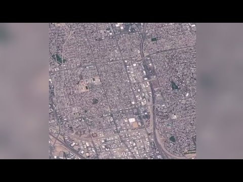 Images of Albuquerque captured from space