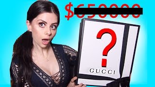 I BUY the MOST EXPENSIVE thing on GUCCI ... actually