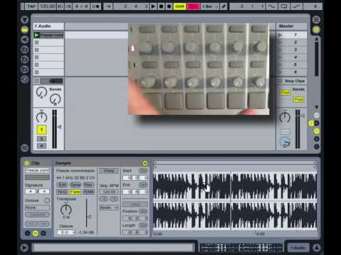ableton live how to make a sound