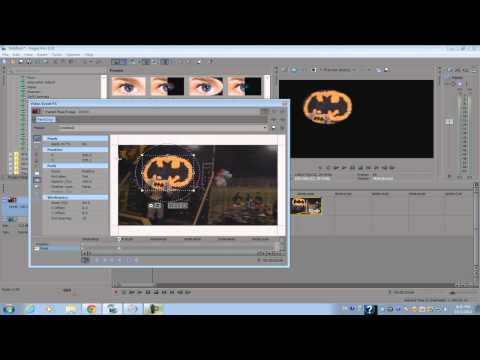 Sony Vegas Pro 12: FX Masking Tutorial