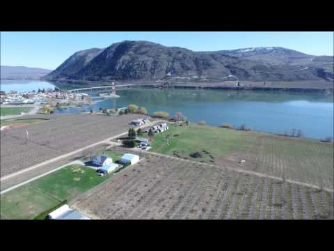 Fly over Brewster,WA April 3, 2017