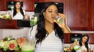recipe for clear skin!! let's juice for clear skin with this green juice