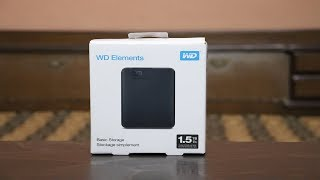 WD External Hard Drive 1.5 TB Unboxing with Speed Test 🔥