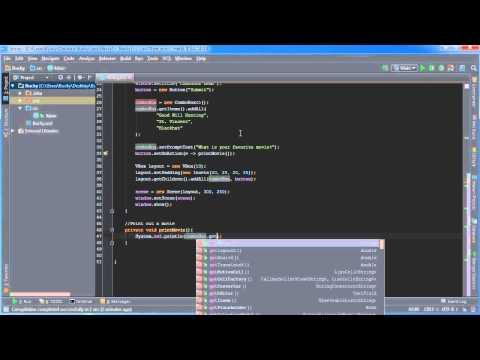 JavaFX Java GUI Tutorial - 14 - ComboBox