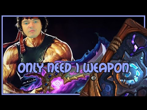 Hearthstone: Only need 1 weapon (kingsbane rogue)