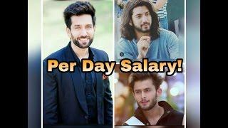 Per Day Salary of Ishqbaaz Actors