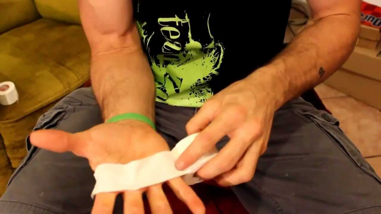american parkour callous rip and tear taping tutorial