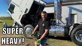 INFRAME ENGINE REBUILD ON THE CABOVER PART ONE!