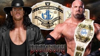 The Undertaker vs Goldberg for Championship