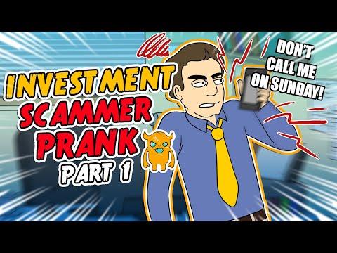 Investment Scammer Prank