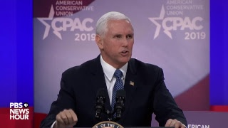 WATCH Vice President Mike Pence addresses CPAC